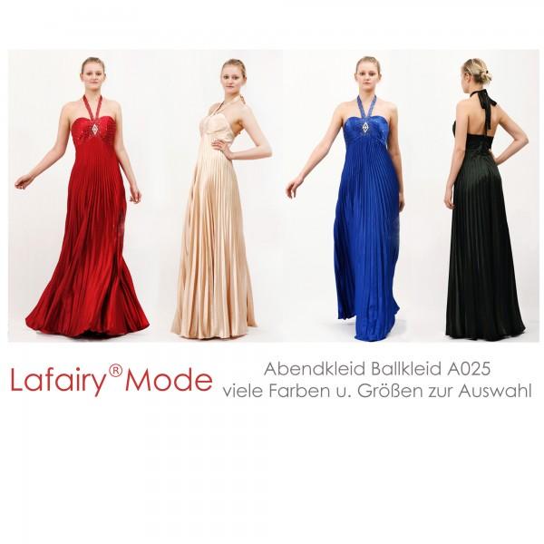 Abendkleid A025 mehrfarbig