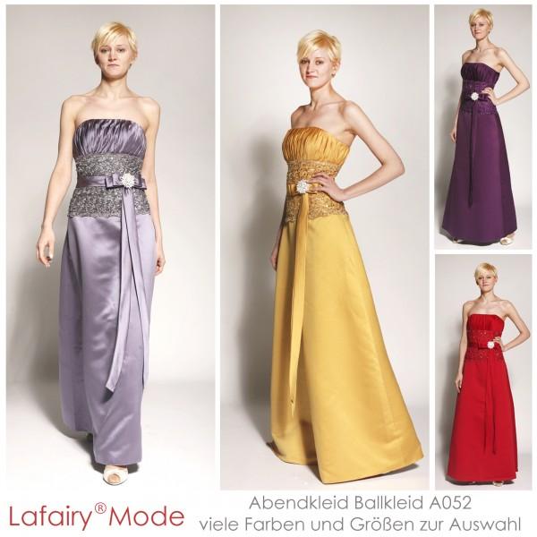 Abendkleid A052 mehrfarbig