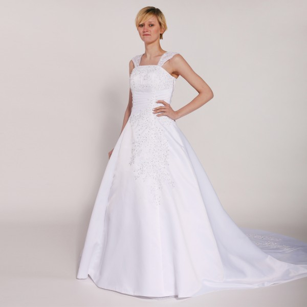 Brautkleid H203 weiß