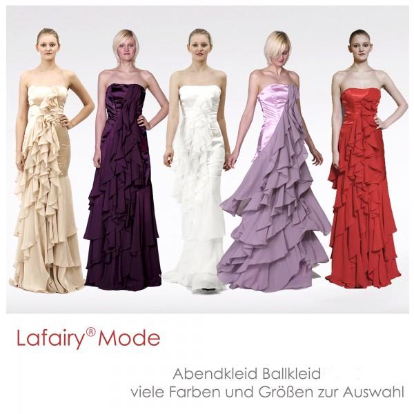 Abendkleid A018 mehrfarbig