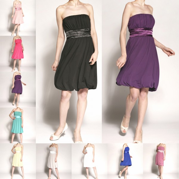 Partykleid P501 mehrfarbig