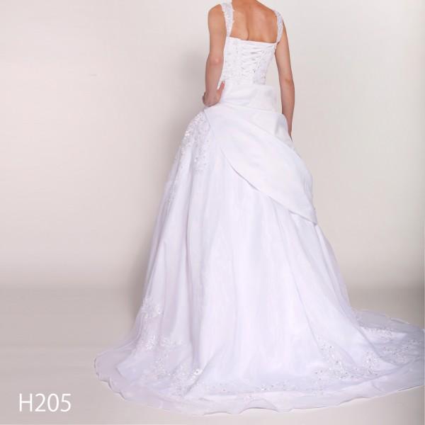 Brautkleid H205 weiß