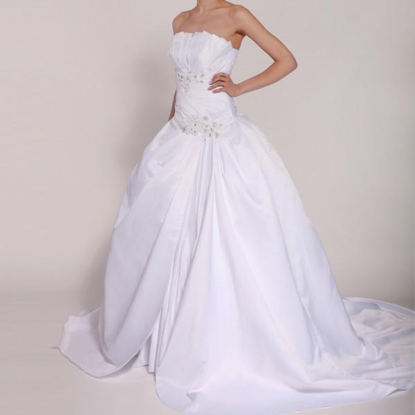 Brautkleid H208 weiß