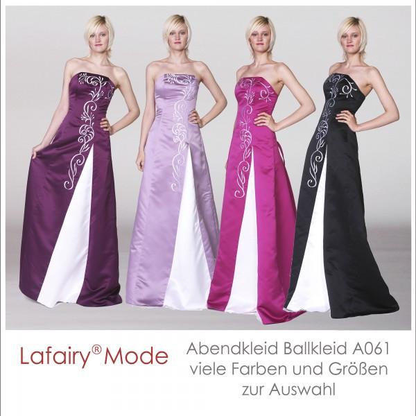 Abendkleid A061 mehrfarbig